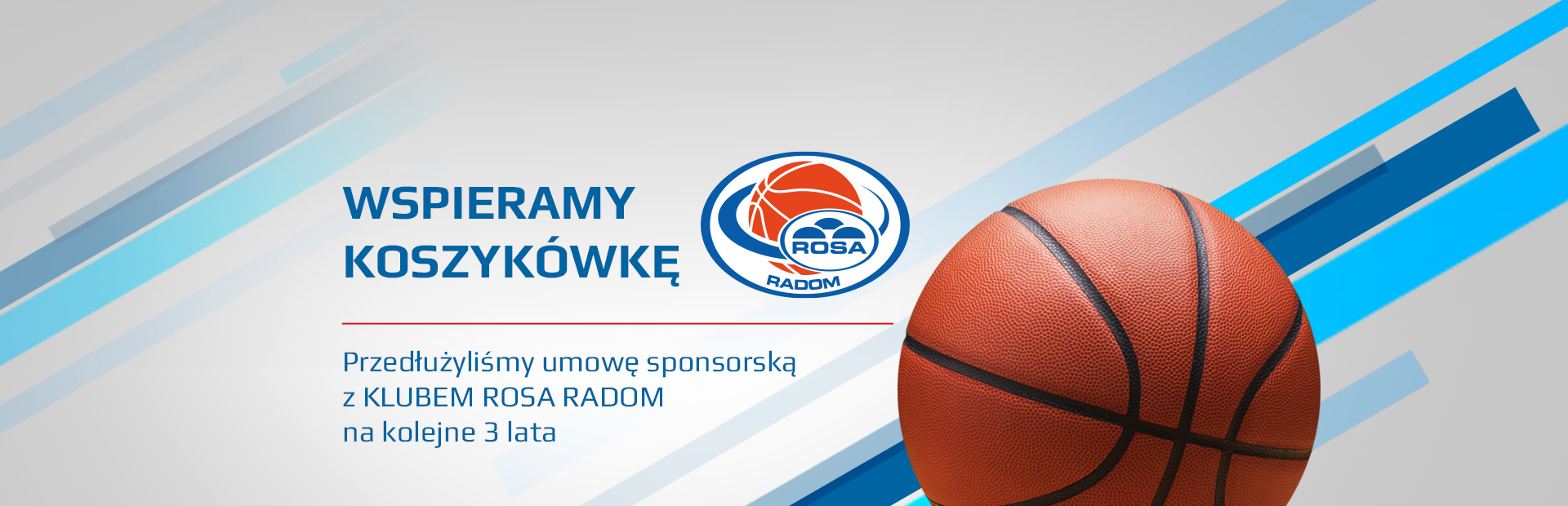 Wspieramy koszykówkę ROSA RAdom